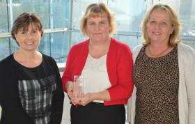 Suffolk careers advisor wins major national award