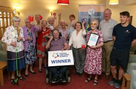 Childwick House triumph in Suffolk Care Home Olympics