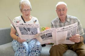 Sporting memories set to be discovered across Suffolk's care homes