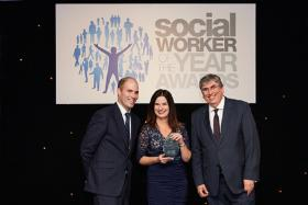 Suffolk social worker recognised in national industry awards