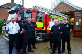 Suffolk launches innovative new fire engine