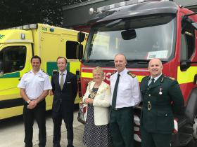 Fire and ambulance services share Sudbury base